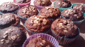 Banana and Oat Healthy Muffins